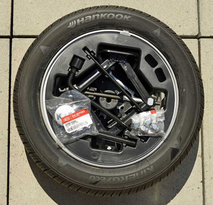 Brand New Picanto Spare Wheel Kit - Kia Owners Club Forums