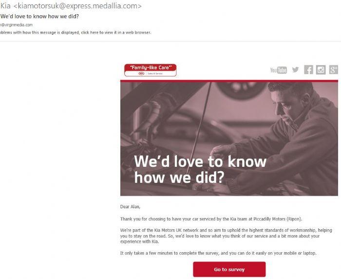 Kia Service In Ripon Kia Owners Club Forums