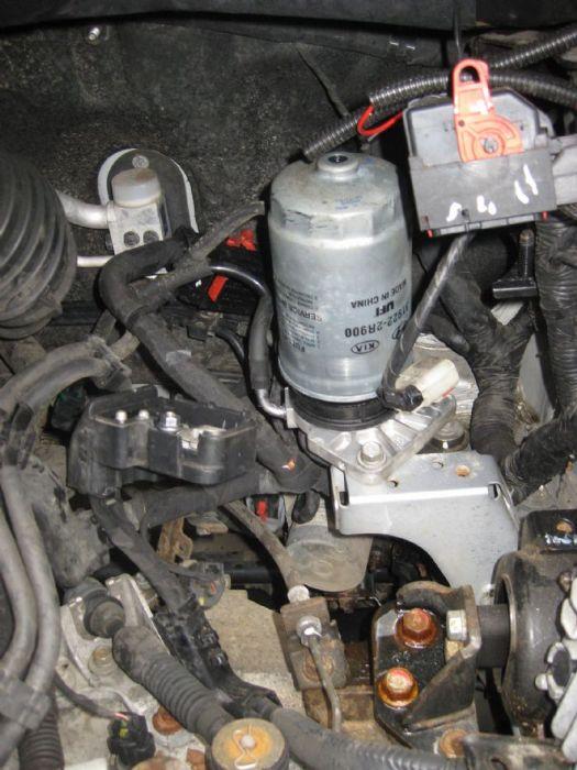 Diesel Engine Misfire Fuel Filter Change Kia Owners