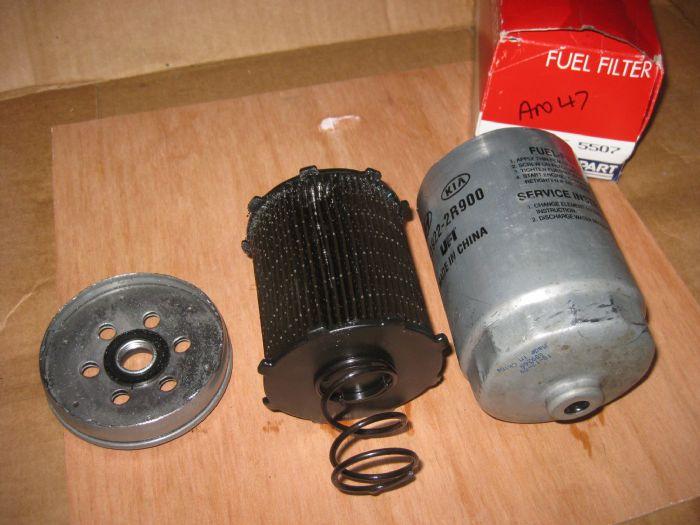 Diesel Engine Misfire    Fuel Filter Change